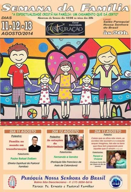 Semana da Familia 2014